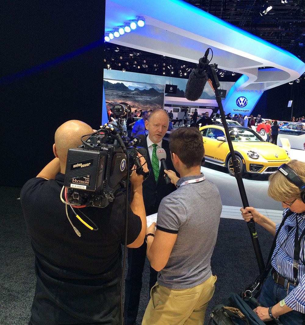 Guido Reinking ist bei TV-Sendern (hier n-tv) ein gefragter Gesprächspartner.