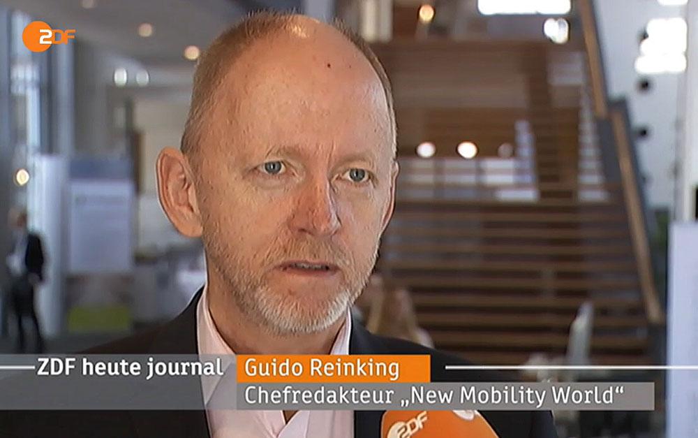 Guido Reinging antwortet auf Fragen des ZDF.