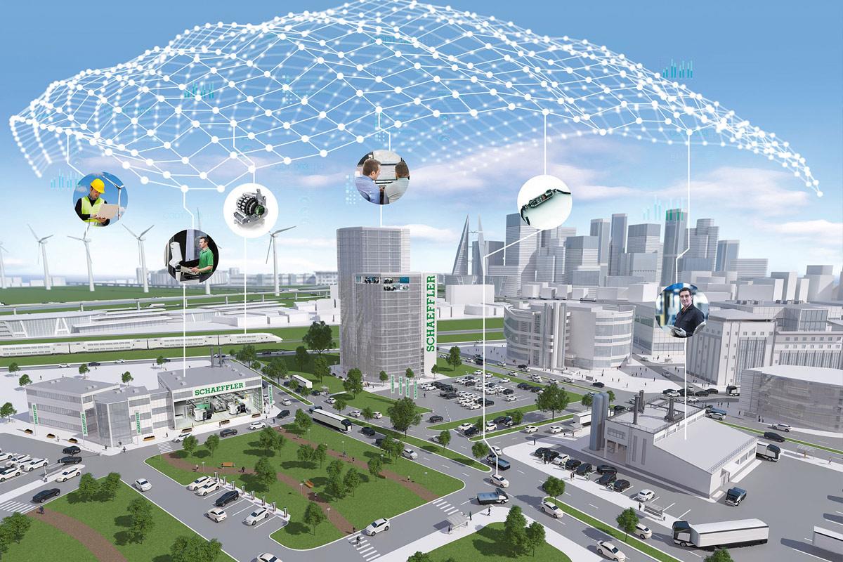 Schaeffler hat auf dem Weg zur neuen, nachhaltigen Mobilität die gesamte Energiekette im Blick