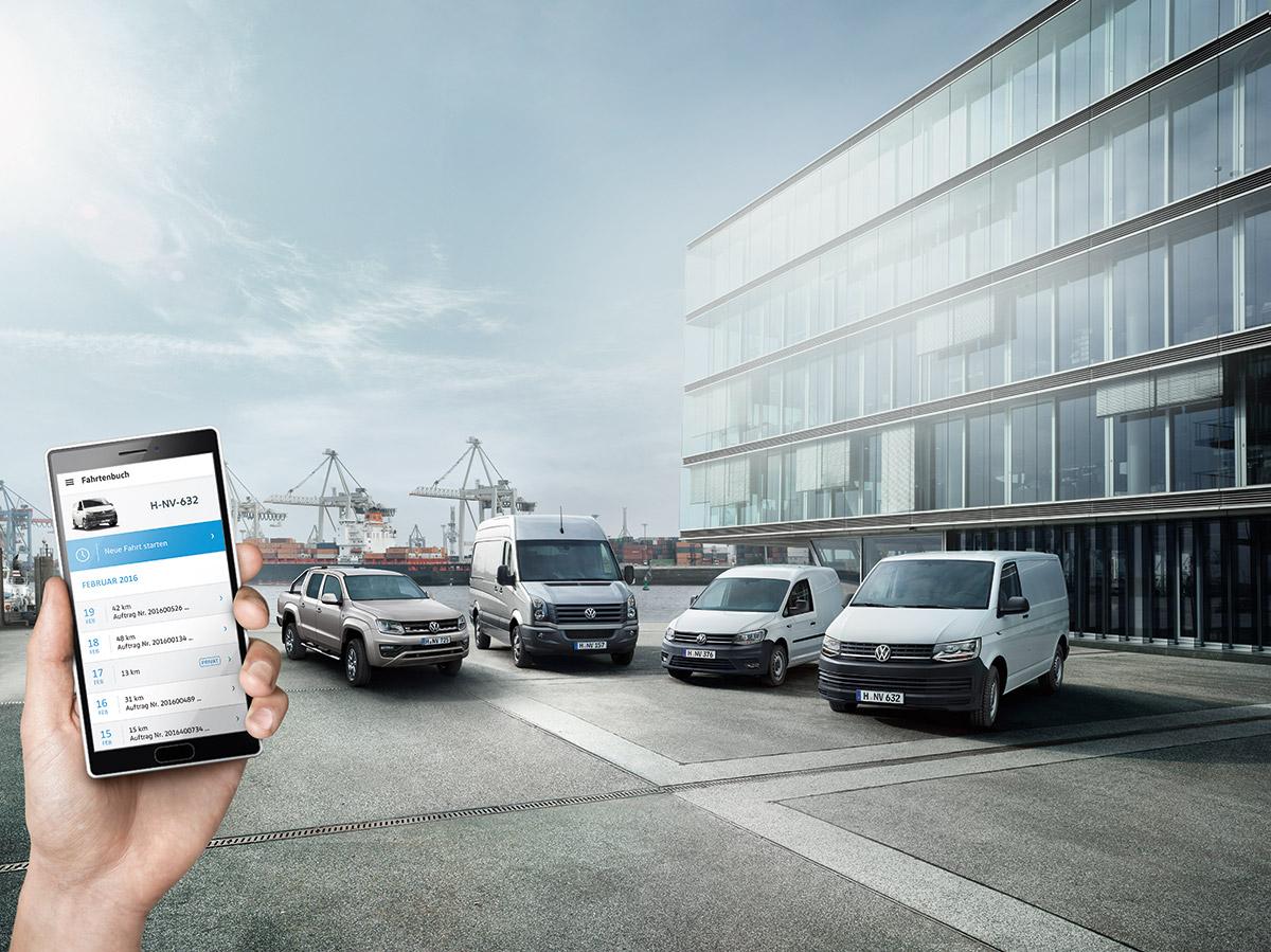 ConnectedVan von Volkswagen Nutzfahrzeuge